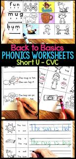 In these worksheets, i ask the children to highlight (color) the ck sound. Short U Phonics Worksheets Activities