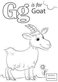 Remarkable Letter G Coloring Page Is For Gift Letters And Alphabet #939
