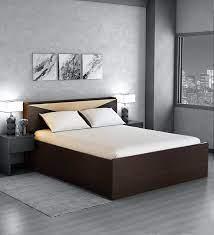 hiroki queen size bed with