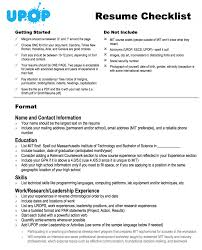 Resume Checklist Of Transferable Skills Sample Review For Employers