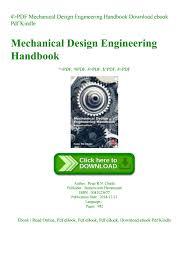 Engineering Design Handbook Pdf Pdf Mechanical Design Engineering Handbook Download Ebook