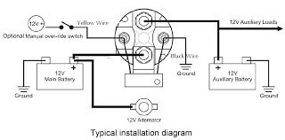 rv battery isolator wiring diagram How To Wire An Isolator Switch Wiring Diagram robust inexpensive 12v 150 amp smart battery isolator and smart