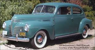 plymouth cars of 1940 1940 plymouth cars