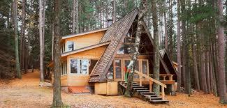 A-frame cottage. Designed by Dale Mulfinger