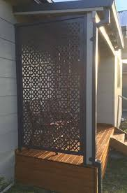 Moroccan Privacy Screen by Ironbark Metal Design