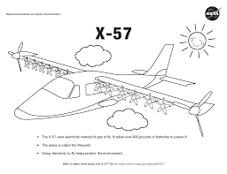 Free, printable coloring book pages, connect the dot pages and color by numbers pages for kids. Airplane Coloring Pages For Kids Nasa