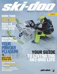 Ski Doo 2014 Catalog By Hardrace Issuu