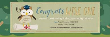 Preschool Graduation Announcements Learn From The Pros How To Word A Graduation Invitation Evite