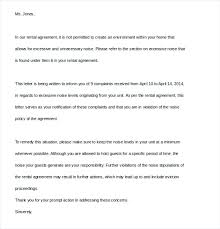 Sample Complaint Letter To Landlord Green Brier Valley