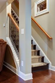 Refinishing Basement Stairs Diy Open Up A Basement Staircase Pinteres
