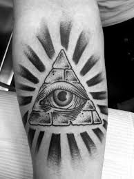 40 Triangle Eye Tattoos Collection
