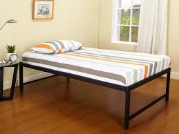 twin solid wood tall platform bed  tall platform bed cozy to