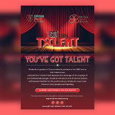 Talent Show Flyer Design Entry 22 By Sunilpatel7525 For Design A Flyer Talent Show