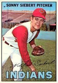 Sonny Siebert | Cleveland indians baseball, Cleveland indians logo,  Cleveland baseball