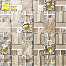 latest design crystal glass mosaic tiles in manufacture