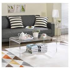 Acrylic Coffee Table - Fox Hill Trading