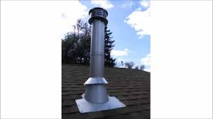 chimney pipe installation for wood stove through a flat ceiling you