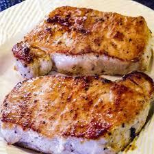 pan seared oven roasted pork chops