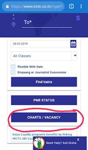 Current Reservation After Chart Preparation Online Now Indian Railways To Display Vaccant Seat Online After