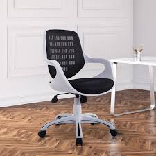 ergonomic office chairs. Perfect Office HOMCOM Executive Office Chair Ergonomic Computer Desk Task Seat Adjustable  Black On Chairs