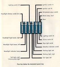 thesamba com type 2 wiring diagrams 1960 fuse box insert