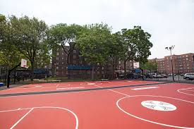 carmelo anthony house basketball court. Delighful Carmelo Carmeloanthonynychaunveilbasketballcourtredhook With Carmelo Anthony House Basketball Court L