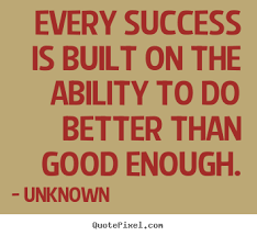 Quotes about success - Every success is built on the ability to do ... via Relatably.com