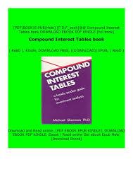 Compound Interest Chart Pdf Download _p D F Compound Interest Tables Book Full_