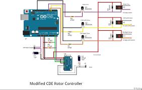 antenna rotor wiring diagram antenna automotive wiring diagrams rotor wiring diagram modified%20cde%20rotor%20controller%20fritzing%20 %20corrected%201