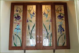 best cabinet door replacement for new look kitchen charming leaded glass cabinet door replacement for