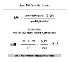 Dubois Body Surface Area Chart Difference Between Bmi And Bsa Bmi Vs Bsa