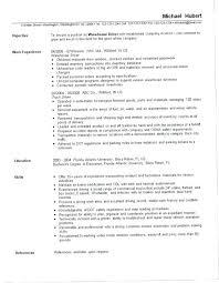 Warehouse Job Description For Resume Warehouse Job Description Resume The Perfect Warehouse Job