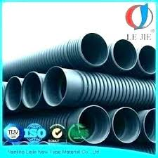 3 inch corrugated drain pipe plastic large diameter black flexible fittings home depot in 2 4