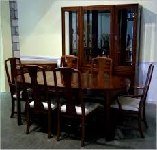 Ethan Allen Cherry Wood Dining Room Set