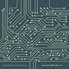 Technology Background With Circuit Vector Free Download