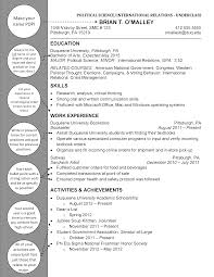 Political Science Resume Free Resume Example And Writing Download