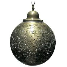 moroccan ceiling light brass round pendant chandelier for style uk