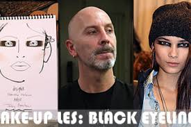 punk rock makeup tutorial black eyeliner for a punk look