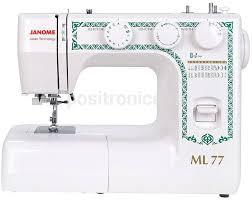 Купить <b>Швейная машина Janome ML 77</b> белый в интернет ...