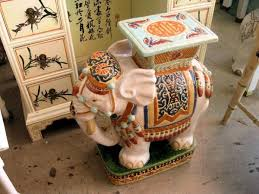 ceramic garden seat. elephant garden seat safavieh gold ceramic patio stool acs4501d the home depot h