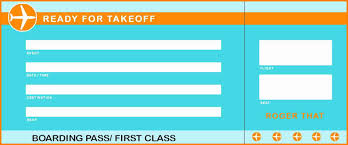 6 Free Plane Ticket Template Quick Askips