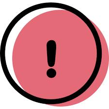 Icono Exclamacion Gratis de Color user interface icons