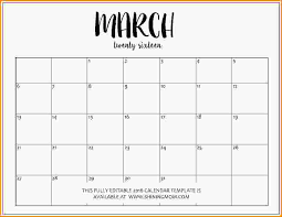 editable calendar march 2018 writable calendar template editable calendar 2016fully editable