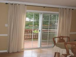 glass door blinds sliding treatments ideas coverings patio shades