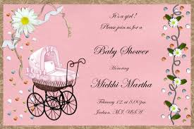 baby shower invitation blank templates excellent baby girl showeron wording examples sayingsons blank