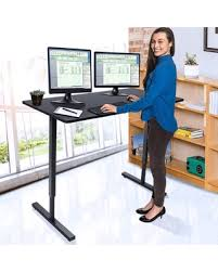 Home office standing desk Ikea Dilwe Standing Desk Adjustable Height Stand Up Desk With Dual Surface Home Office Desk Dianeheilemancom Dont Miss This Deal On Dilwe Standing Desk Adjustable Height Stand