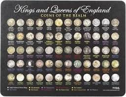 coins of english kings queens history mouse mat royal family  image is loading coins of english kings amp queens history mouse