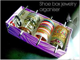 Bracelet Organizer Ideas Quickly Convert An Empty Shoe Box Into A Handy Bracelet Organizer