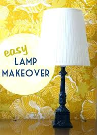 painting lamp shades with acrylic paint painting lamp how to easy lamp makeover spray painting tips painting lamp shades