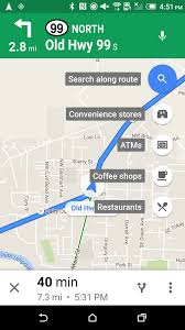 Google Maps V9 26 1 Adds Search Along Route For Walking And